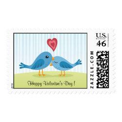 Valentines day postage stamp stamp
