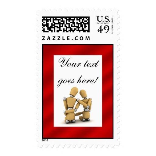 Valentine's Day - Postage Stamp