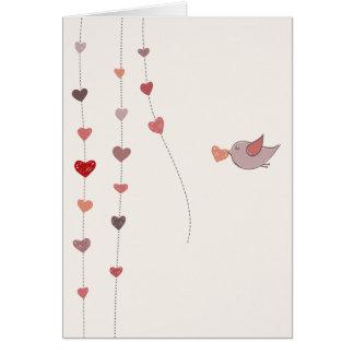 Valentine's Day preparations Card