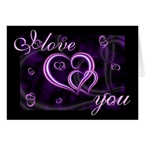 purple love valentine day - photo #1
