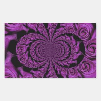 Valentines day rectangular sticker
