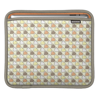 Valentine's Day Retro Ipad CASE Hearts Pattern Sleeves For iPads