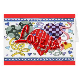 Valentine's Day Romantic Greeting Greeting Card