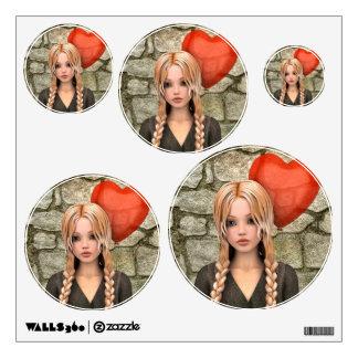Valentines Day Room Stickers