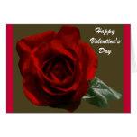 Valentine's Day Rose Card