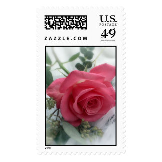 Valentine's Day Rose Stamp