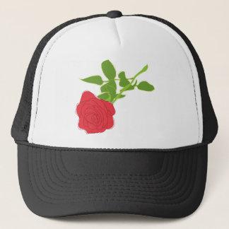 Valentine's Day Rose Trucker Hat