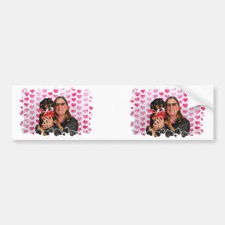 Valentine's Day - Sadie - Dachshund Bumper Sticker