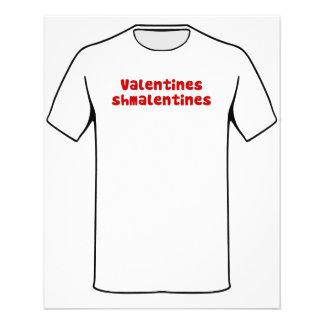 Valentines Day Schmalentines Day Flyer