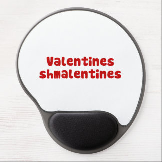 Valentines Day Schmalentines Day Gel Mousepad