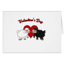 Valentines day - Sheep Card