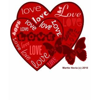 Valentine's Day Shirt (2) - Hearts & Love shirt