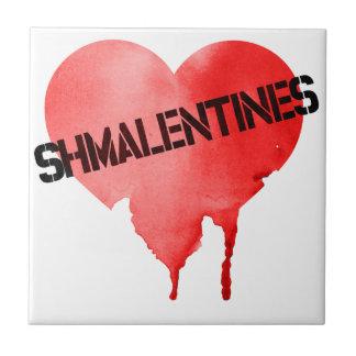 Valentine's Day Shmalentine's Day Ceramic Tile