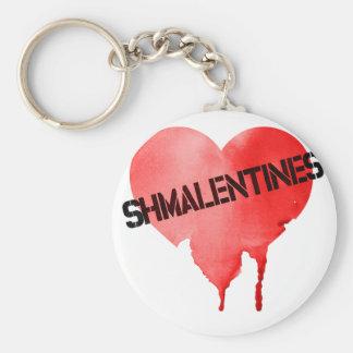 Valentine's Day Shmalentine's Day Keychain