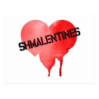 Valentine's Day Shmalentine's Day Postcard