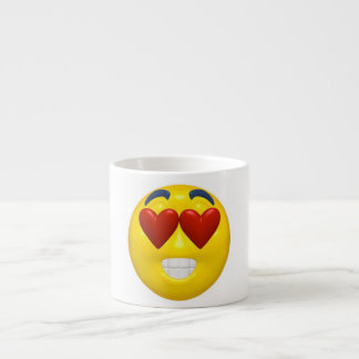 Valentine's Day Smiley Espresso Cup