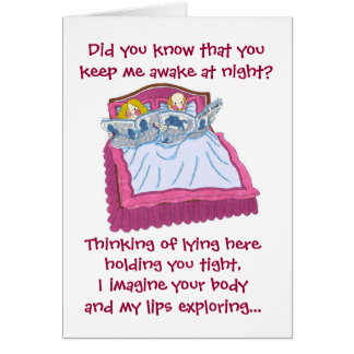 Valentine's Day...snoring Card