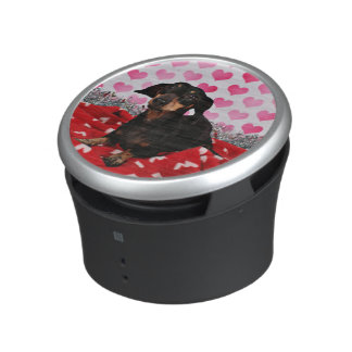 Valentine's Day - Sophia - Dachshund Bluetooth Speaker