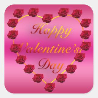 Valentine's Day Square Sticker