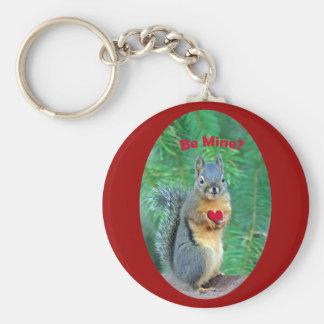 Valentine's Day Squirrel Key Chains