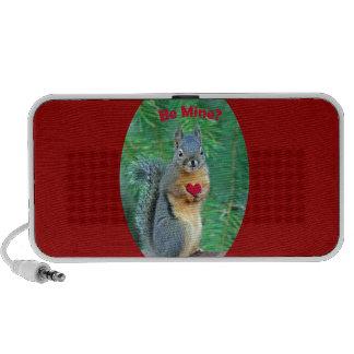 Valentine's Day Squirrel iPhone Speaker