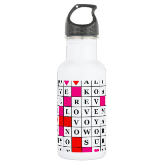 Valentines Day Stainless Steel Water Bottle