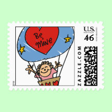 Valentine's Day Stamp - Make the card you send just a little more Special