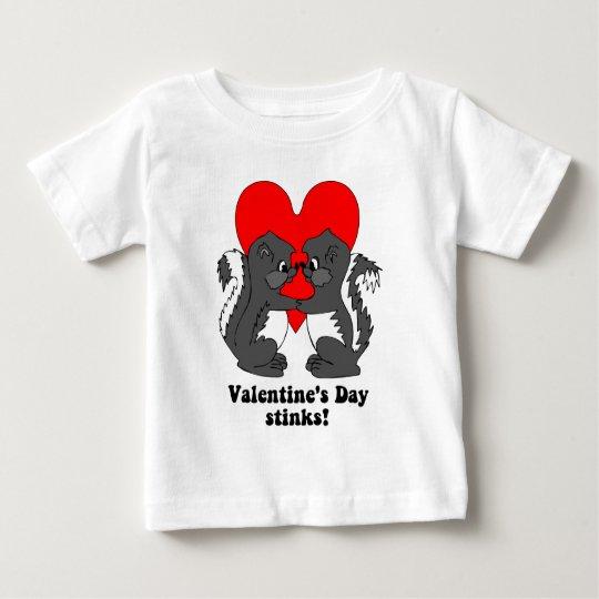 Valentine's day stinks baby T-Shirt