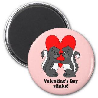 Valentine's day stinks fridge magnets