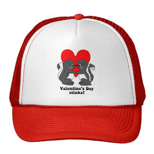 Valentine's day stinks trucker hat