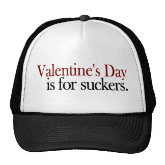 Valentine'S Day Sucker Trucker Hat