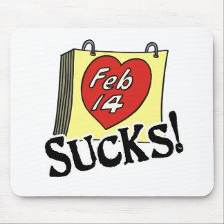 Valentine's Day Sucks Mouse Pad