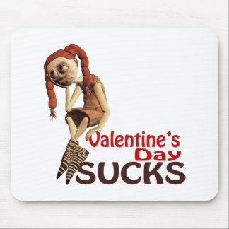 valentines day sucks sad girl mousepad