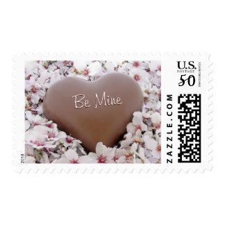Valentine's Day: Sweet Chocolate Heart Postage