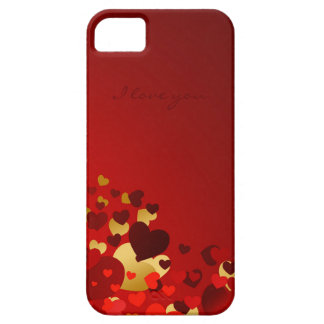 valentines day sweet hearts with love declaration iPhone SE/5/5s case