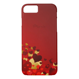 valentines day sweet hearts with name iPhone 8/7 case