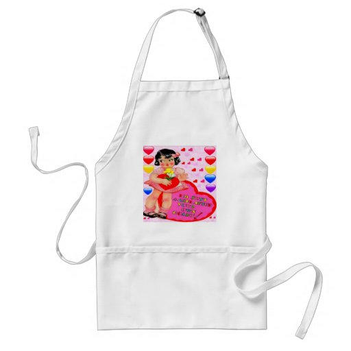 VALENTINE'S DAY SWEETHEART APRON - BEST GIFTS