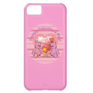 Valentines Day Teddy Bears iPhone 5C Cover
