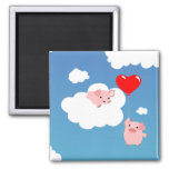 Valentine's day: The Wings of Love magnet