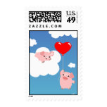 Valentine's day: The Wings of Love postage stamp