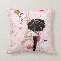 Valentine's Day Throw Pillow, Love Couple Throw Pillow