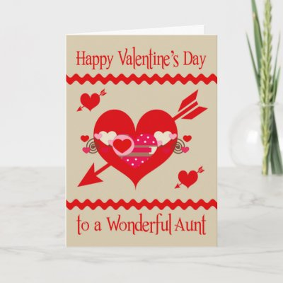 Aunt Uncle Glossy Grizzly Valentine Puppy Love Holiday Card