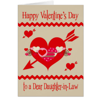 Valentineu0026#39;s Day To Daughter In Law Card