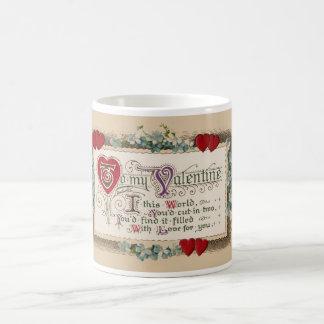Valentine's Day Traditional Love Poem Coffee Mug