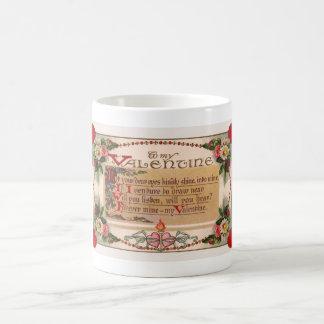 Valentine's Day Traditional Wishes Coffee Mug