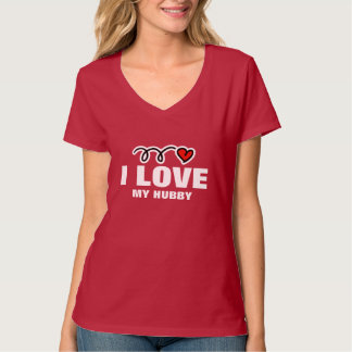 Valentine's Day tshirt | I love my hubby husband