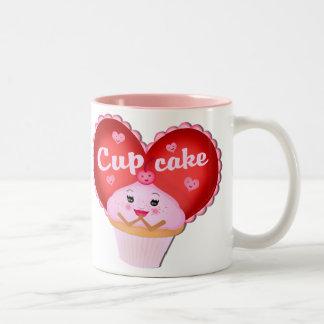Valentine's Day Two-Tone Coffee Mug