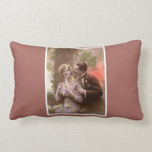 Valentine's Day Vintage Mother's Day Pillow
