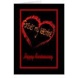 Valentine's Day wedding anniversary Greeting Card