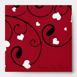 Valentine's Day Wedding Envelopes